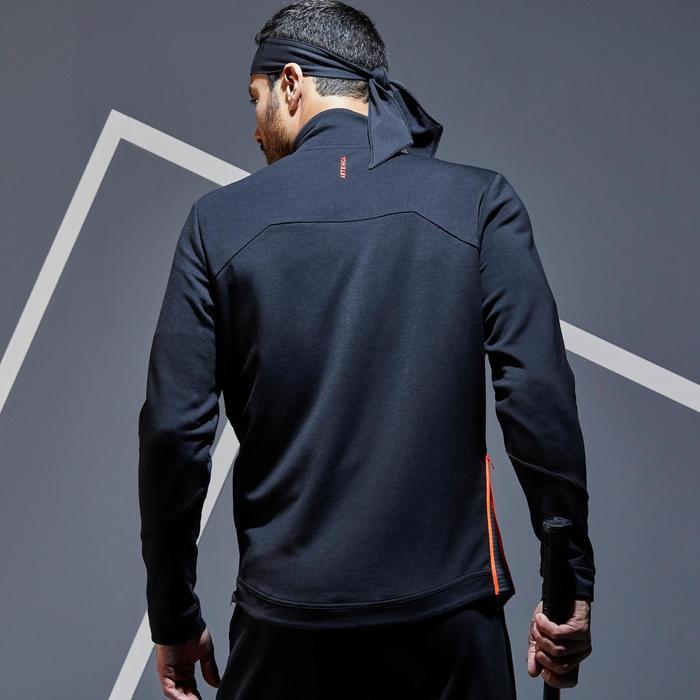 Tennisvest voor heren TJA 900 zwart