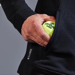 Tennisvest voor heren TJA500 zwart