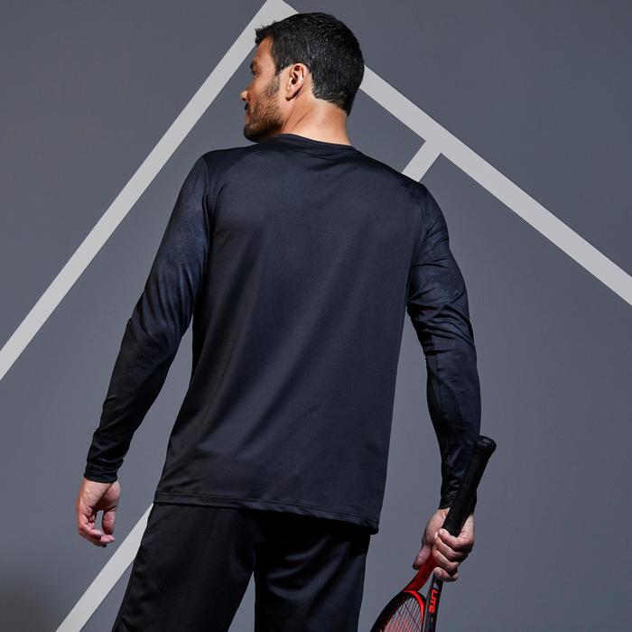 TTS500 保暖長袖T恤-黑色