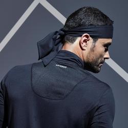 Thermo tennisshirt voor heren 900 zwart