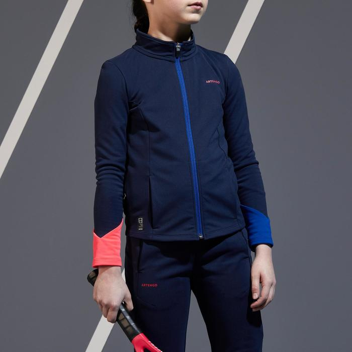 Girls' Thermal Jacket 500 - Navy Blue