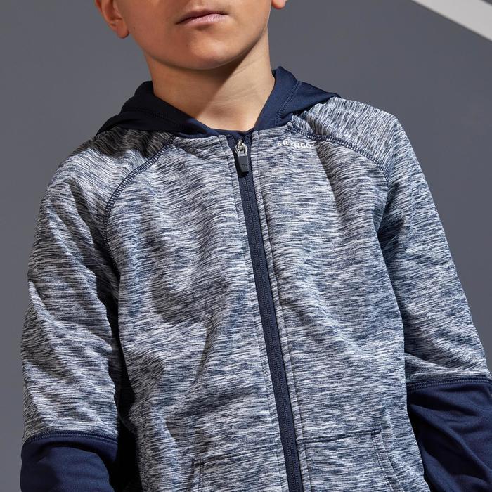 兒童款保暖外套-軍藍色