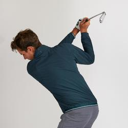 Golf Windbreaker wasserabweisend Herren petrolgrün