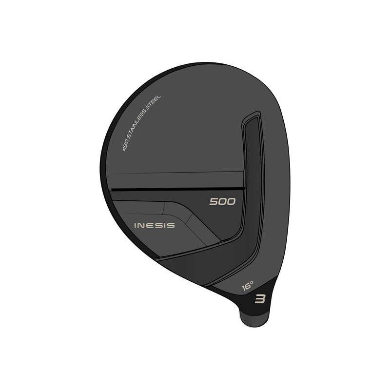 GOLFKLUBBOR VAN Golf - Fairwaywood 3 höger 500 s1 HS INESIS - Golf 17