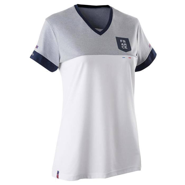 T-shirt de football femme FF100 France blanc