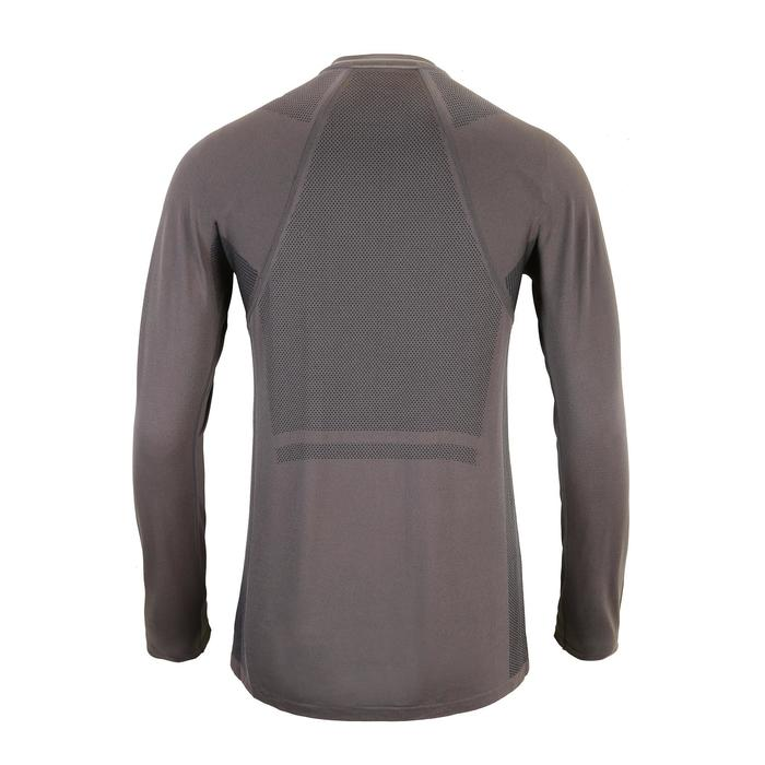 FTS 500 Fitness Cardio Training Long-Sleeved T-Shirt - Mottled Grey