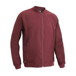 FVE 100 Fitness Cardio Training Jacket - Burgundy