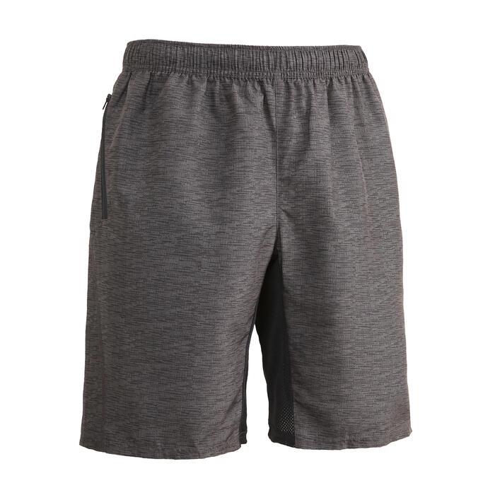 有氧健身訓練短褲FST 120 – 刷色灰
