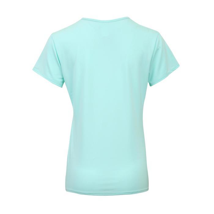 100 Women's Fitness Cardio Training T-Shirt - Mint Green
