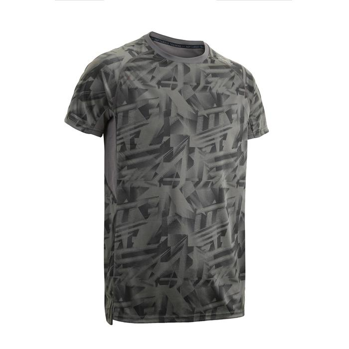 FTS 120 Fitness Cardio Training T-Shirt - Grey