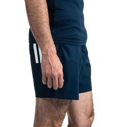 Short de rugby Adidas 3S bleu