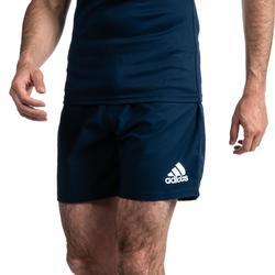 Rugbyshort voor heren 3S blauw