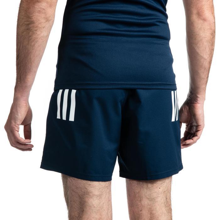 Pantalón corto Rugby Adidas 3S Hombre azul