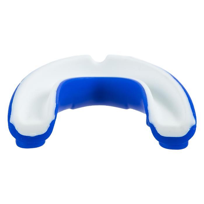Orthodontisch rugbybitje voor kinderen Gilbert wit blauw