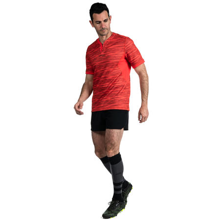 Men's Rugby Shorts R500 - Black