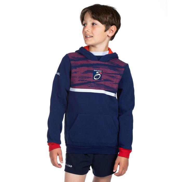 Sudadera con capucha (hoodie) hincha Francia 2019 júnior azul