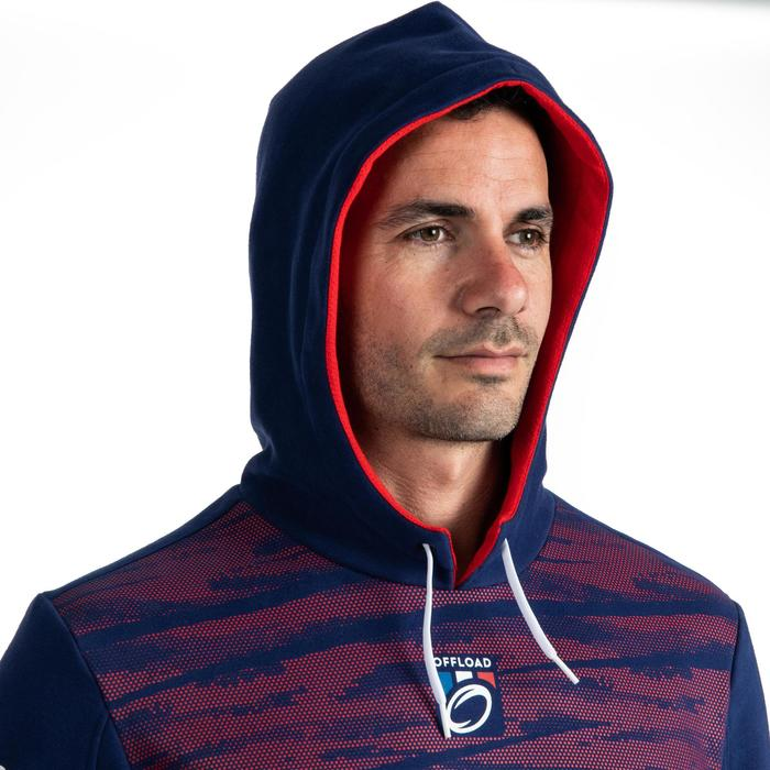 Sweat à capuche (hoodie) supporter France homme bleu