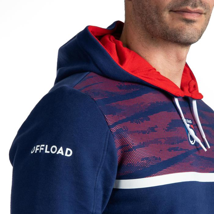 Sweat à capuche (hoodie) supporter France 2019 homme bleu