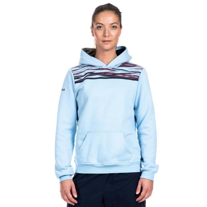 Rugby-Hoodie Kapuzen-Sweatshirt R100 Damen