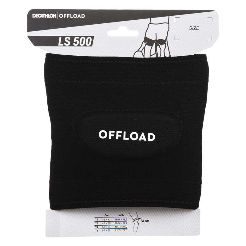 PADS RUGBY Rugby - R500 Rugby Lift Support Black OFFLOAD - Rugby