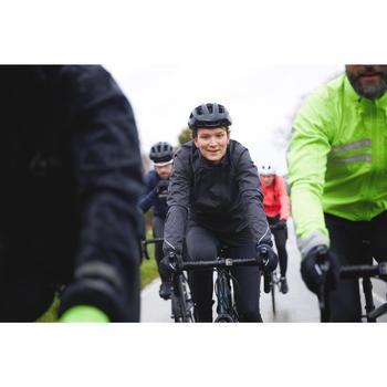 Veste coupe pluie vélo femme 500 noir