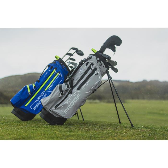 Golf Standbag wasserdicht grau
