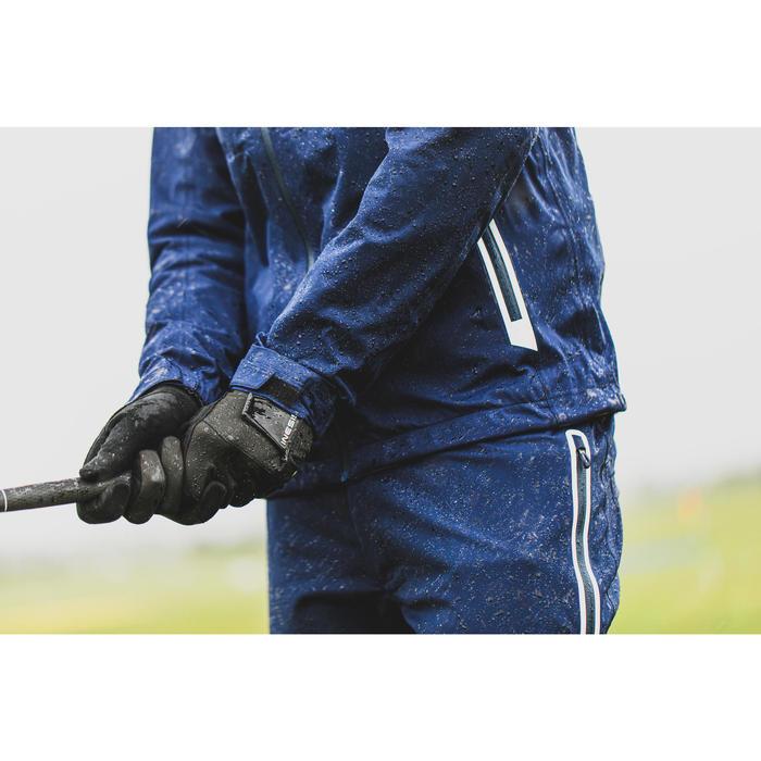 Golf Regenjacke wasserdicht Herren marineblau