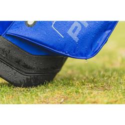 Standbag Golf wasserdicht blau/gelb