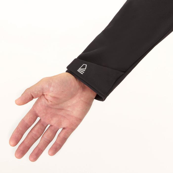 Softshell jas voor wedstrijdzeilen heren Race zwart