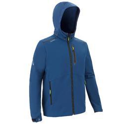 男款帆船競賽軟殼外套-深藍色