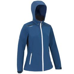 Women's yacht racing softshell Dark blue