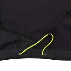 Softshell jas voor wedstrijdzeilen heren zwart