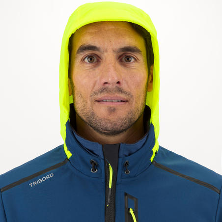 Чоловіча куртка для вітрильних перегонів, із софтшелу - Жовта