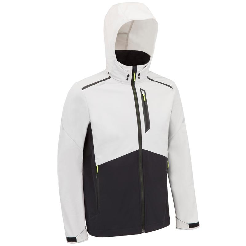 Men's Yacht Racing Softshell - Grey/Black