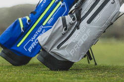 GREY WATERPROOF GOLF BAG