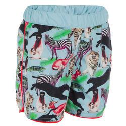 Zwemshort peuter met dierenprint