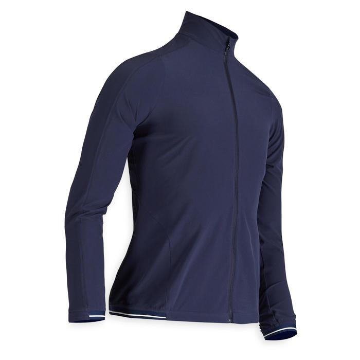 Waterafstotend windjack voor golf dames marineblauw
