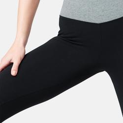 Legging 7/8 510 piping Fitness femme noir/gris