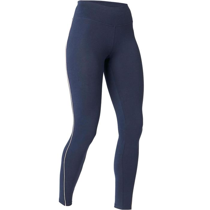 Leggings 510 Slim Pilates & sanfte Gymnastik Damen blau/rosa