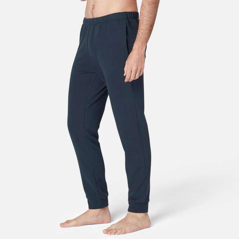 ÎMBRĂCĂMINTE VREME RECE TONIFIERE, PILATES BĂRBAȚI Imbracaminte - Pantalon Regular 100 bărbați NYAMBA - Pantaloni
