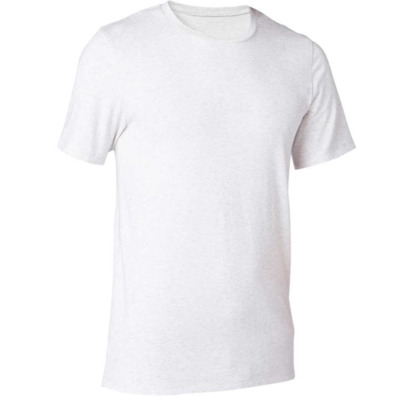 MAN GYM, PILATES APPAREL Clothing - Men's Slim Gym T-Shirt 500 DOMYOS - Clothing