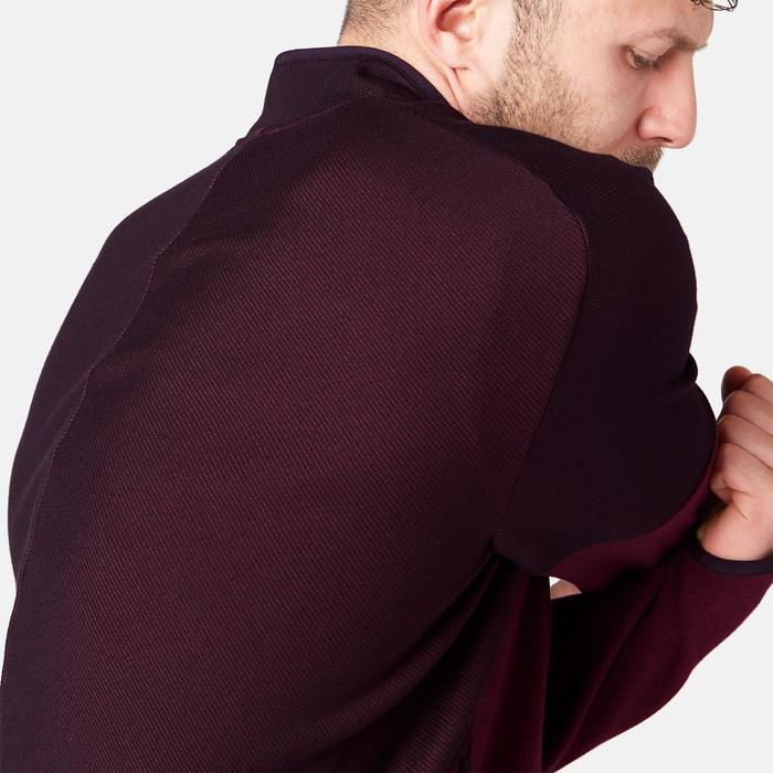 Veste zippée homme Free Move bordeaux