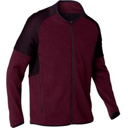 Trainingsjacke Free Move 540 Pilates sanfte Gymnastik Herren bordeaux