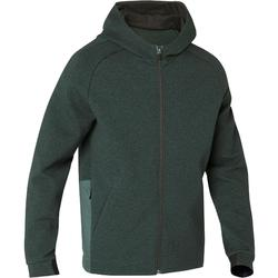 530 Spacer Hooded Pilates & Gentle Gym Jacket - Mottled Green