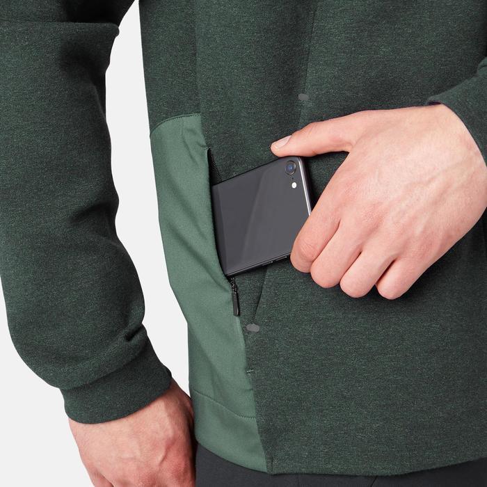 溫和健身與皮拉提斯Spacer連帽外套530 - 雜綠色