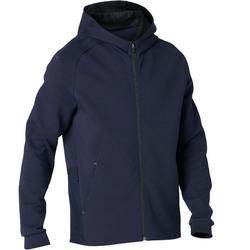 Veste à capuche zippée homme 530 spacer bleu