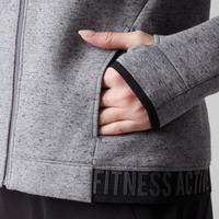 Veste 520 spacer Pilates et gym douce femme gris