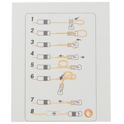 Connector elastiek 1 mm PF-PA EC