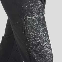 Pantalon chaud de randonnée homme SH520 x-warm noir.