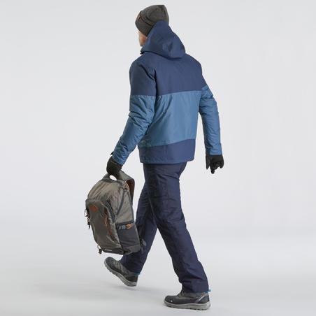 Men's Snow Hiking Jacket SH100 X-Warm - Blue